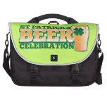 ST Patricks Day BEER Celebration Laptop Bag