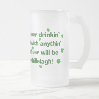 St. Patrick's Day Beer Drinking Mug