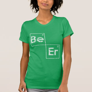 St Patrick's Day Beer Elements T-Shirt