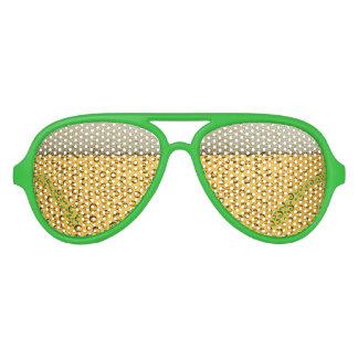 St Patricks Day Beer Goggles Aviator Sunglasses