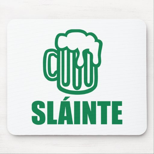 St. Patrick's day beer Mouse Pad