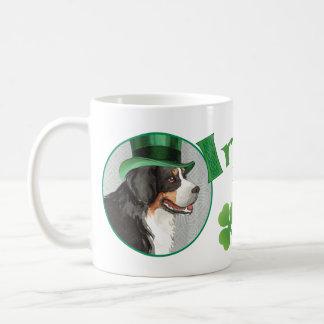 St. Patrick's Day Berner Coffee Mug
