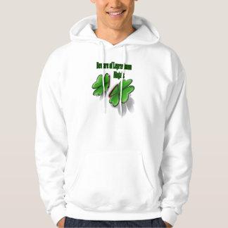 St. Patrick's Day, beware the leprechaun ninja's Hoodie