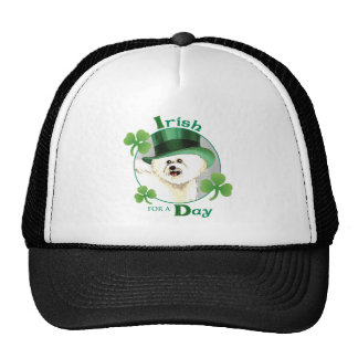 St. Patrick's Day Bichon Trucker Hat