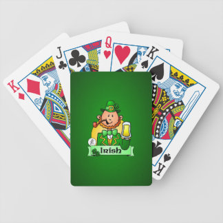 St. Patrick's Day Bicycle Playing Cards