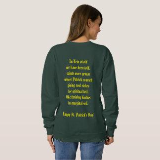 St. Patrick's Day Birch tree Sweatshirt