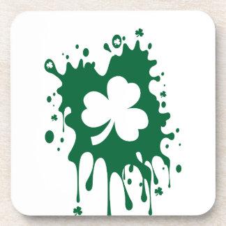 St. Patrick's Day Birthday Beverage Coasters