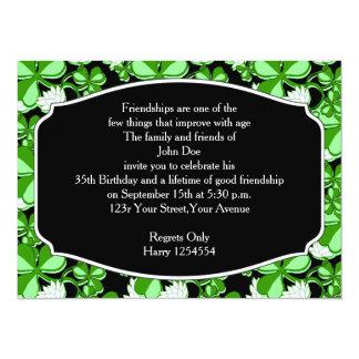 St. Patrick's Day Birthday Party Invitation