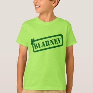 St.Patrick's Day Blarney Kids Green T-shirt