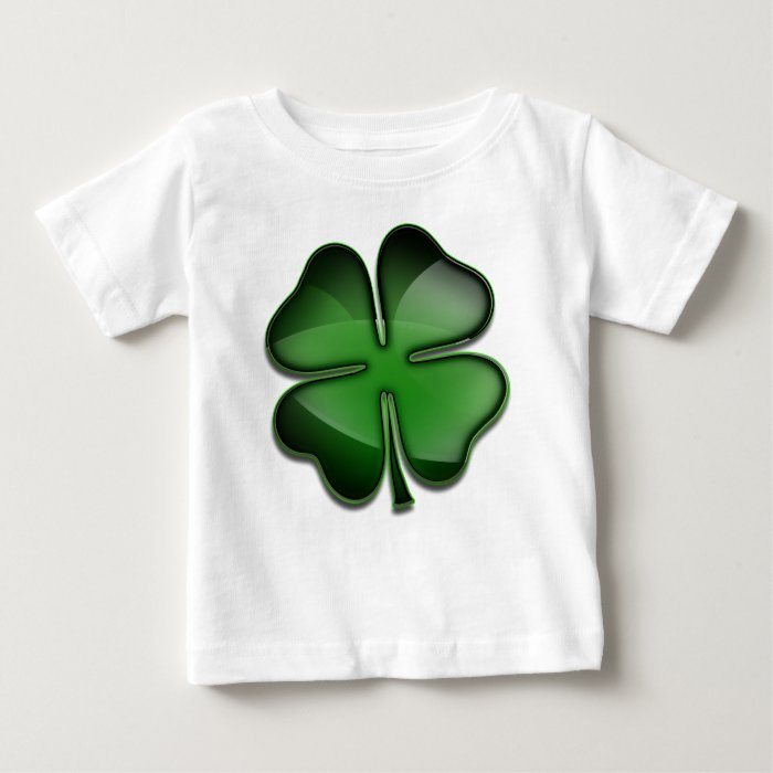 St. Patricks Day Bling Baby T-Shirt