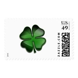 St. Patricks Day Bling Postage Stamp