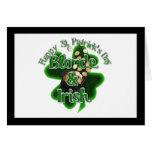 St. Patrick's Day - Blonde And Irish Card