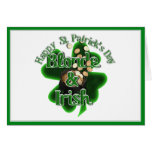 St. Patrick's Day - Blonde And Irish Greeting Card