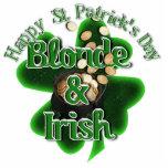 St. Patrick's Day - Blonde And Irish Photo Cutout