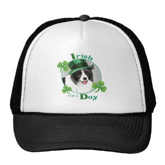 St. Patrick's Day Border Collie Trucker Hat