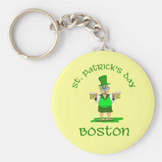 st patricks day boston gladys keychain
