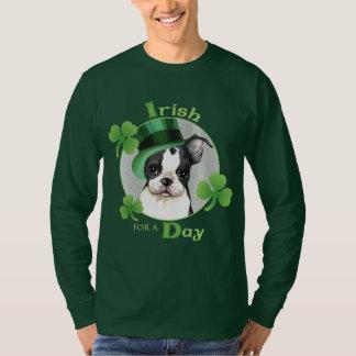 St. Patrick's Day Boston Terrier T-Shirt