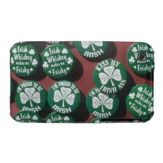 St. Patrick's Day buttons displaying Irish pride iPhone 3 Case-Mate Case