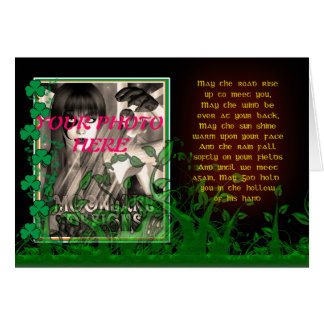 St. Patrick's Day Card With Irish Blessing Photo C