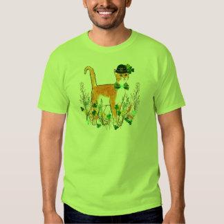 St. Patrick's Day Cat Tshirts