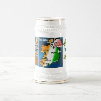 St. Patrick's Day Celebration  18 Oz Beer Stein
