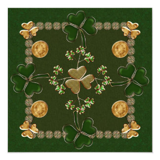 St. Patricks Day Celebration Custom Invitations
