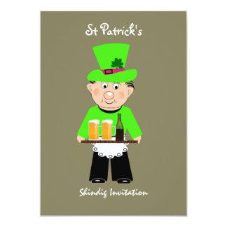 St Patrick's Day Celebration Party Invitations