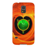 ST PATRICK'S DAY CELTIC HEART WITH SHAMROCK CASES FOR GALAXY S5