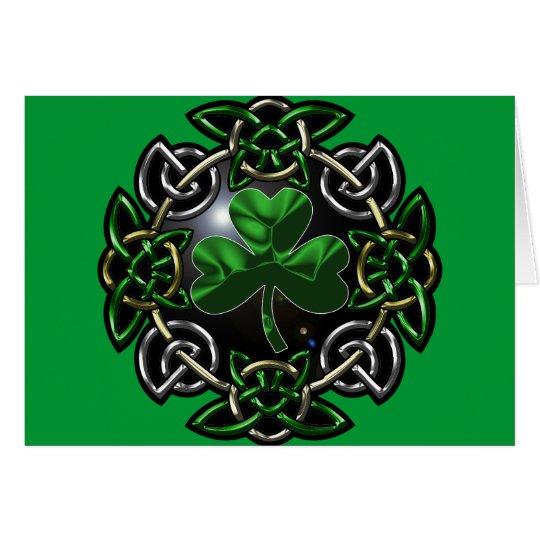 St. Patrick's Day Celtic Knot Card