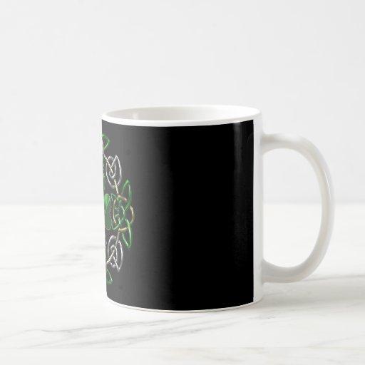 St. Patrick's Day Celtic knot design Coffee Mug