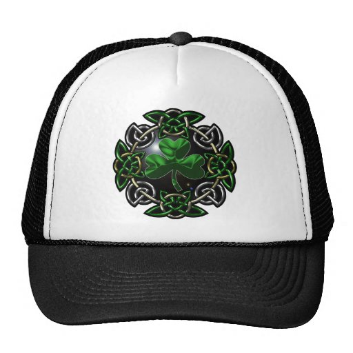 St. Patrick's Day Celtic knot design Hat