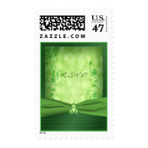 St. Patrick's Day Celtic Love knot RSVP Postage