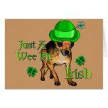 St. Patrick's Day Chihuahua Greeting Card