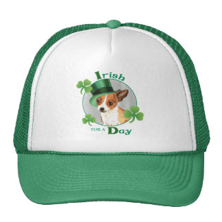 St. Patrick's Day Chihuahua Trucker Hat