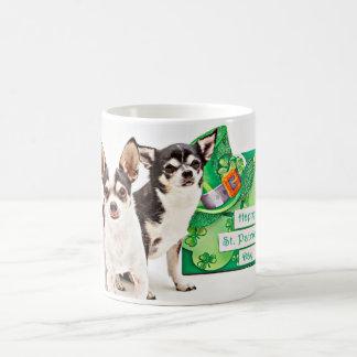 St. Patrick's Day Chihuahua's Coffee Mug