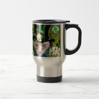St Patricks Day Claude Travel Mug