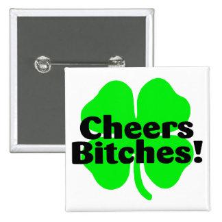 St Patricks Day Clover Pin