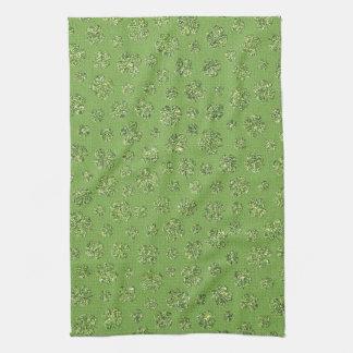 St. Patrick's Day Clover Leaf Kitchen Towel