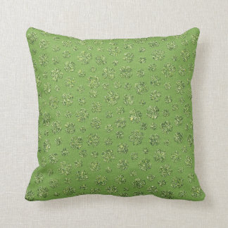 St. Patrick's Day Clover Leaf Pillow