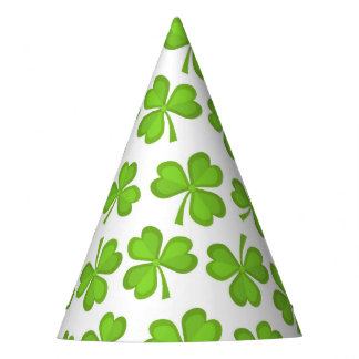 St. Patrick's Day clover pattern Party Hat