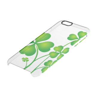 St. Patrick's Day Clover / Shamrocks + your ideas Uncommon Clearly™ Deflector iPhone 6 Case