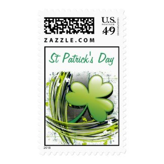 St Patrick's Day Clover Stamp