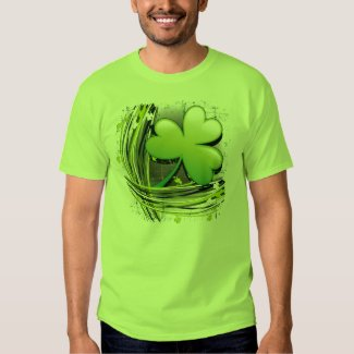St Patrick's Day Clover Tshirt