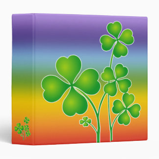 St. Patrick's Day Clover + your ideas Binder