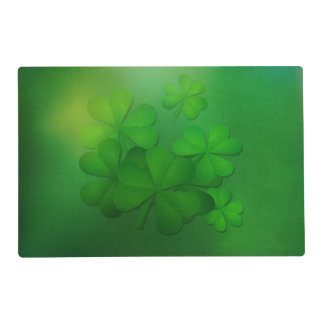 St. Patrick's Day - Clovers Placemat