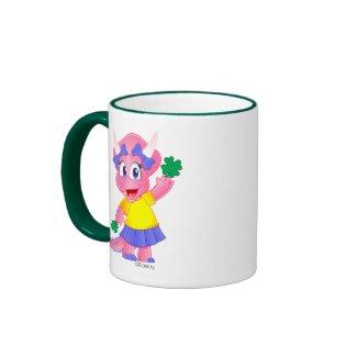 St. Patrick's Day Coffee Mug (Savannah Dino)