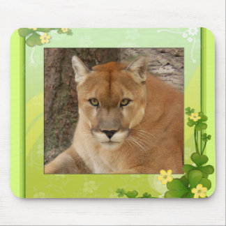 St. Patrick's Day-Cougars Mouse Pad