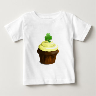St. Patrick's Day cupcake Baby T-Shirt