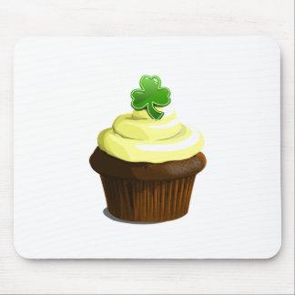 St. Patrick's Day cupcake Mousepad