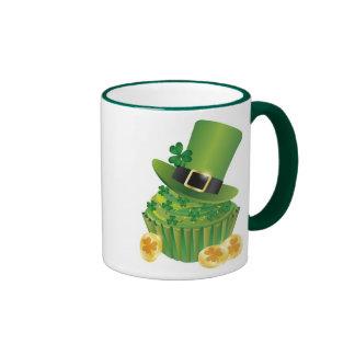 St. Patrick's Day Cupcake Mug